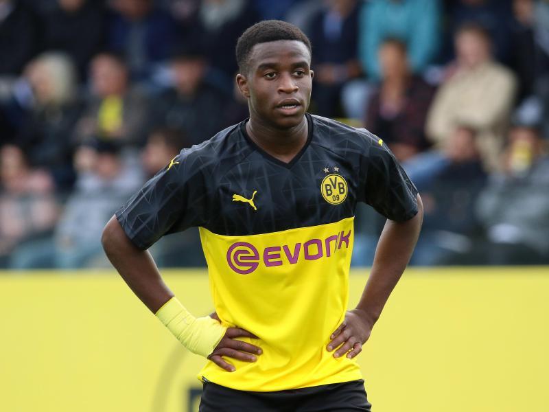 Könnte jüngsten Debütanten der Bundesliga-Historie werden: Youssoufa Moukoko vom BVB