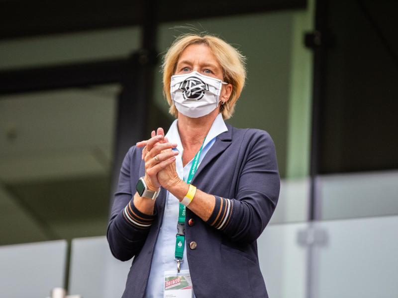 Setzt auf Rotation: Frauen-Bundestrainerin Martina Voss-Tecklenburg