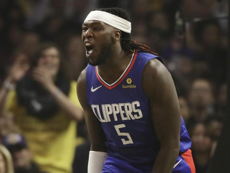 Die Los Angeles Lakers holten Montrezl Harrell von den Clippers