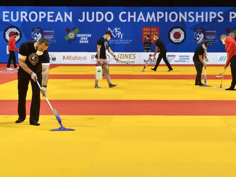Strenge Hygienemaßnahmen und keine Zuschauer bei der Judo-EM in Prag