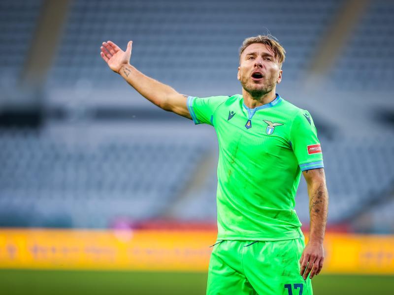 Hat sein Comeback nach einer Corona-Infektion mit einem Tor für Lazio Rom gekrönt: Ex-BVB-Star Ciro Immobile