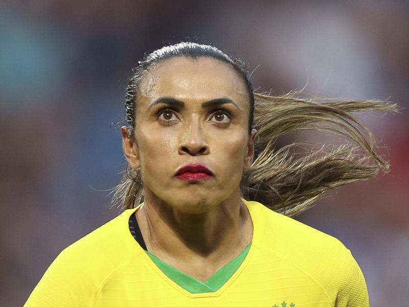 Marta wurde positiv auf das Coronavirus getestet