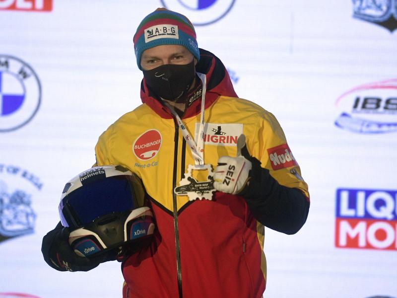 Gewann auch das zweite Rennen in Sigulda: Francesco Friedrich