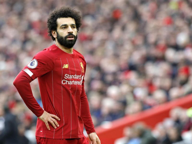 Liverpools Mohamed Salah hatte sich mit dem Coronavirus infiziert
