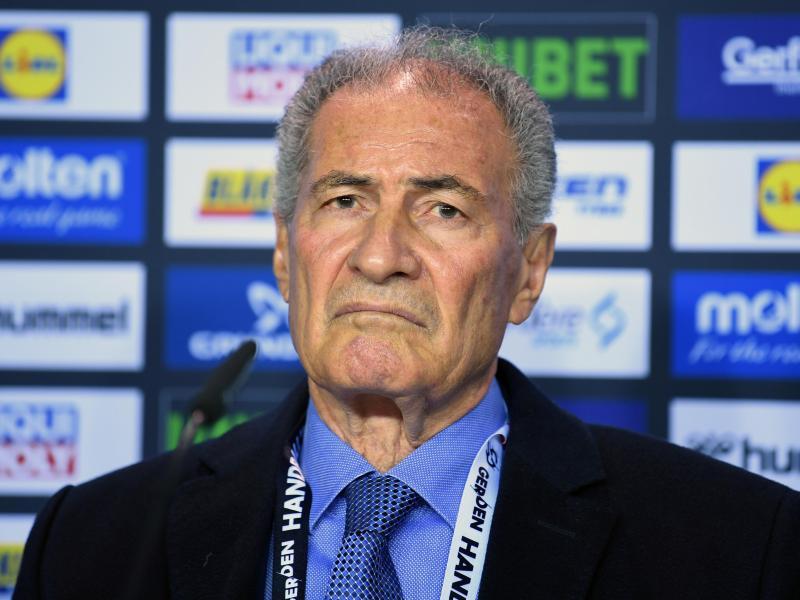 Hassan Moustafa, Präsident des Internationalen Handballverbandes (IHF)