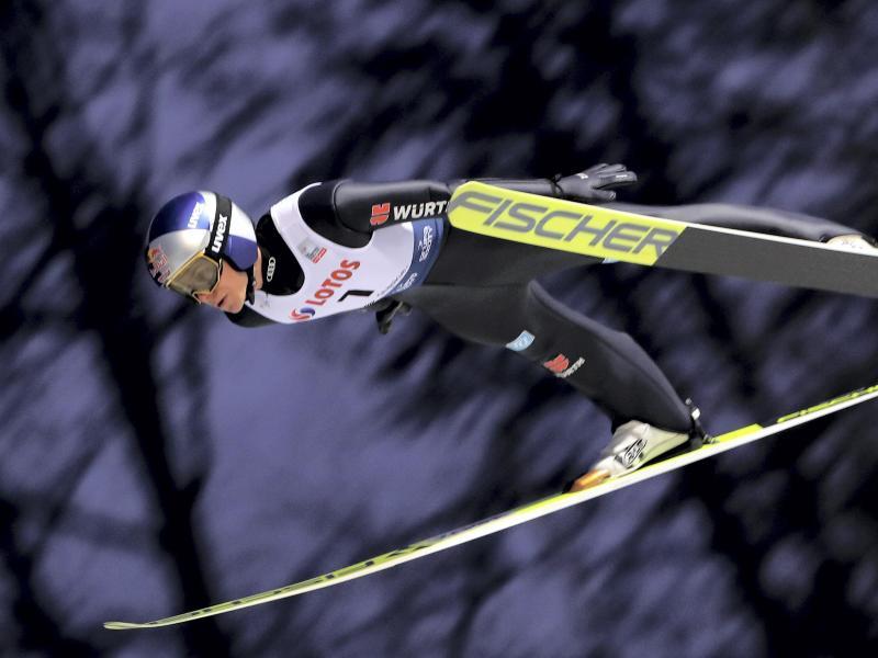 Andreas Wellinger ist in dieser Saison in allen drei Einzelwettbewerben im ersten Durchgang ausgeschieden