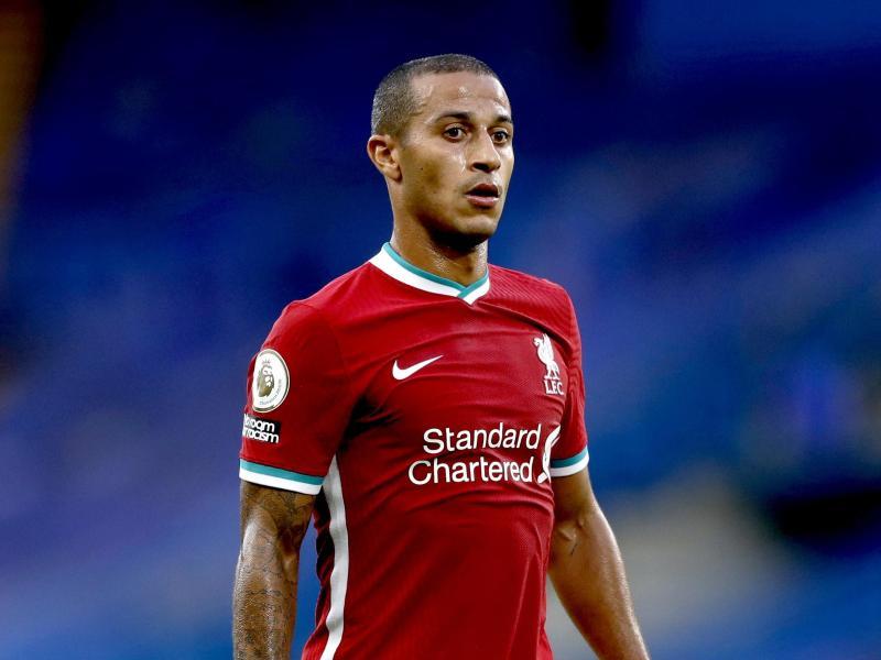 Die Rückkehr des verletzten Thiago beim FC Liverpool verzögert sich