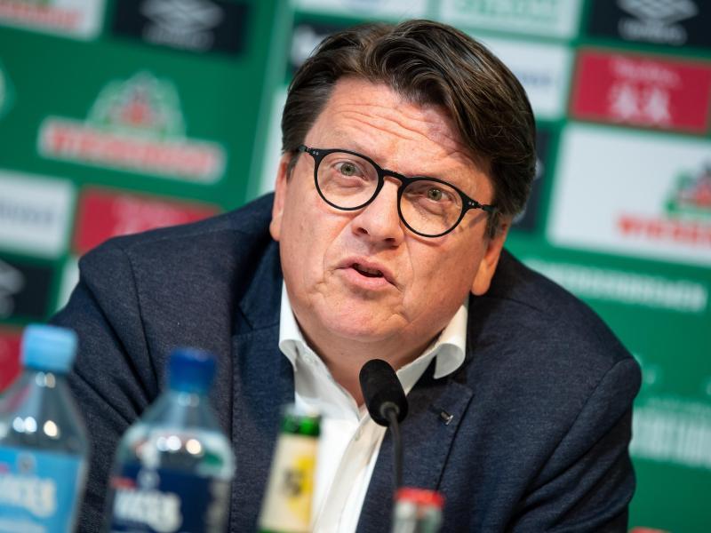 Will mit Frank Baumann verlängern:Werder-Präsident Hubertus Hess-Grunewald
