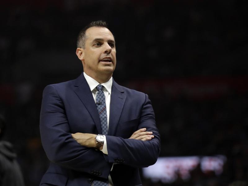 Freut sich auf Dennis Schröder: Lakers-Coach Frank Vogel