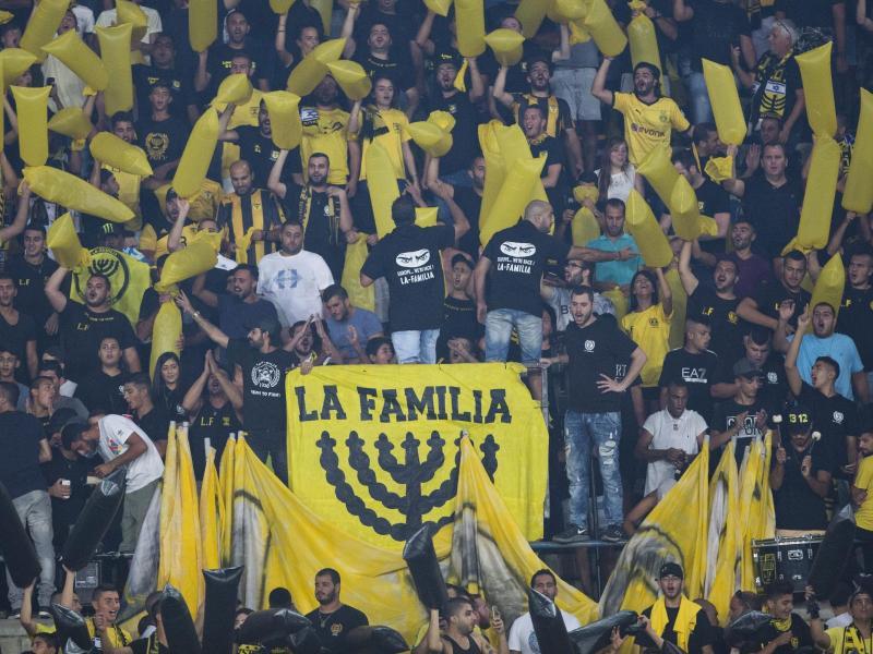 Anhänger des Fußballvereins Beitar Jerusalem (Symbolbild)