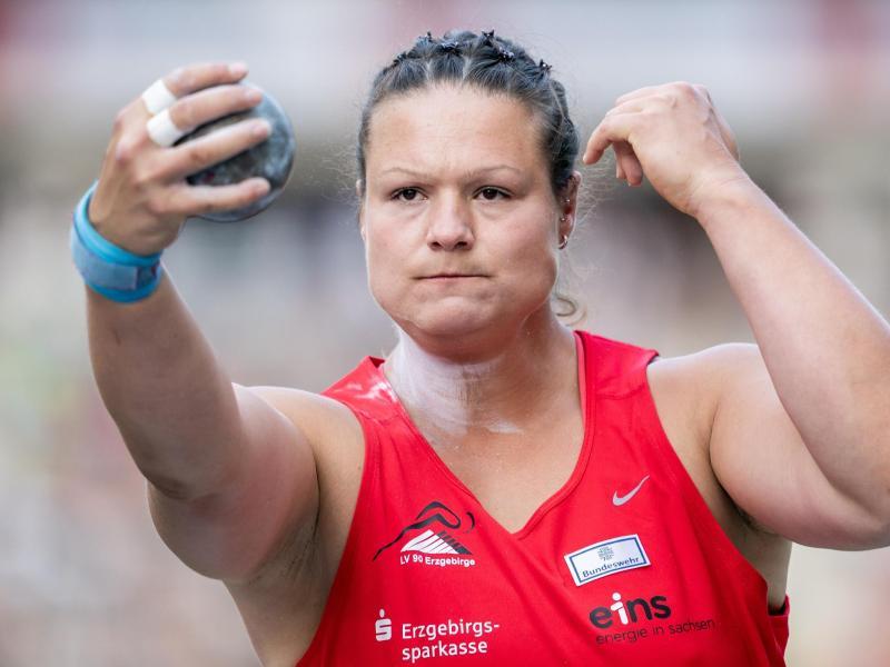 Christina Schwanitz verliert ein wenig die Motivation für die Olympischen Spiele