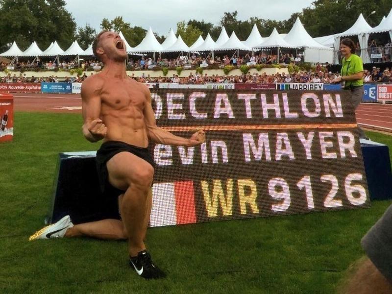 Kevin Mayer knackte 2018 den Zehnkampf-Weltrekord