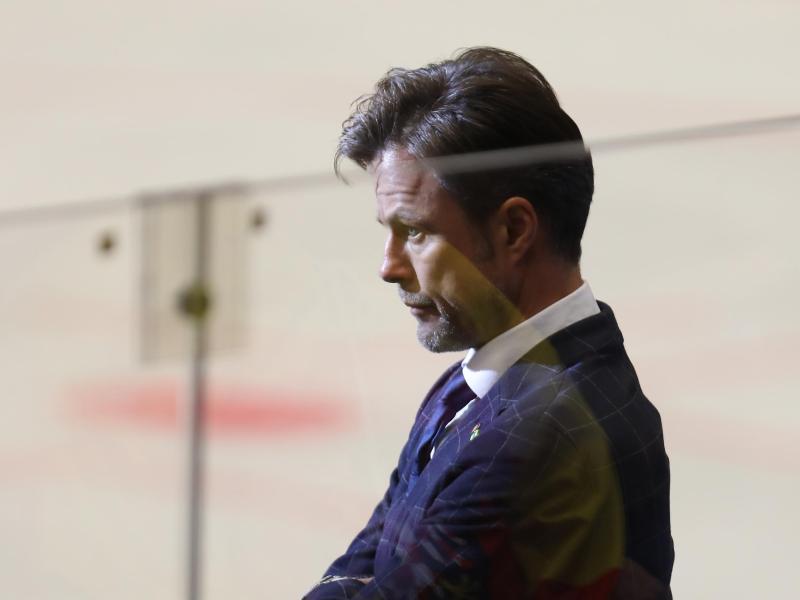 Verlor den WM-Auftakt mit Deutschlands Eishockey-Nachwuchs: Coach Tobias Abstreiter