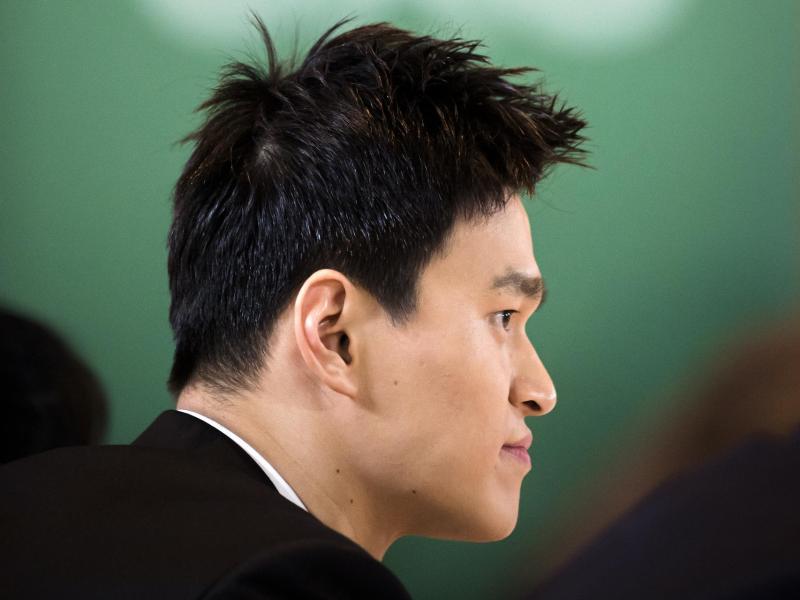 Der chinesische Schwimmstar Sun Yang war zu einer achtjährigen Sperre verurteilt worden.