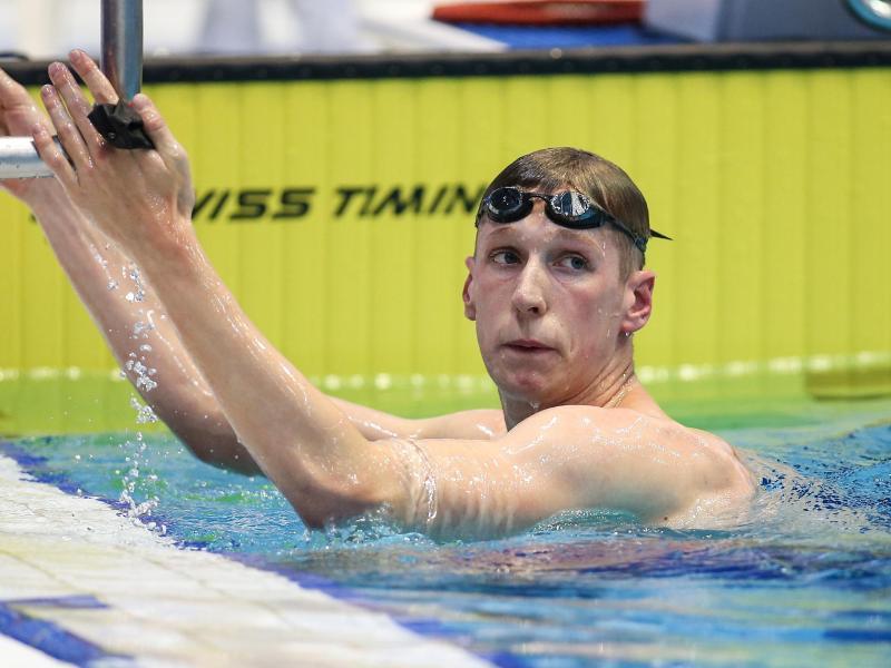 Hat Olympia in Tokio fest im Blick: Schwimmer Florian Wellbrock