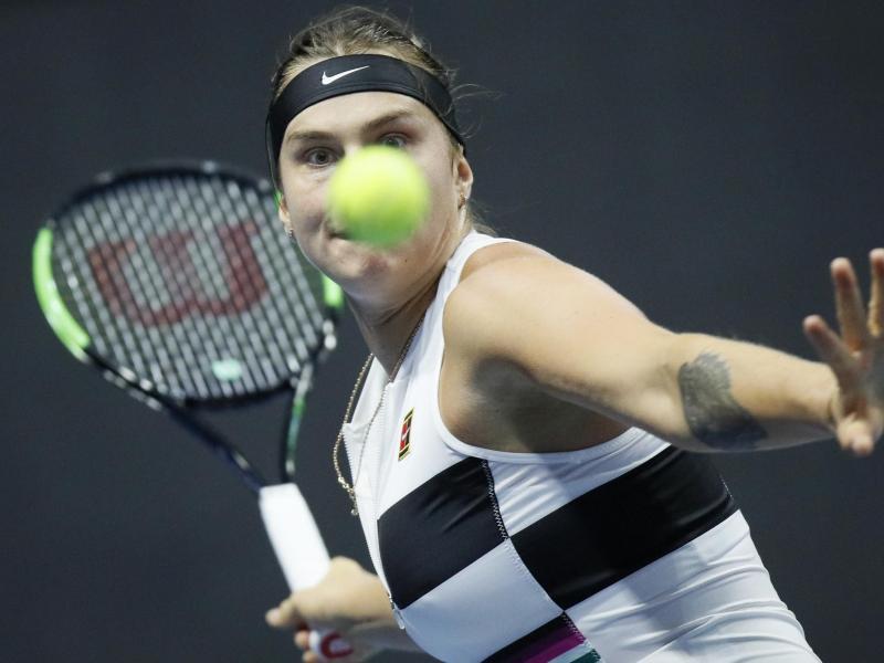 Startete mit einem Turniersieg ins Tennis-Jahr 2021: Aryna Sabalenka