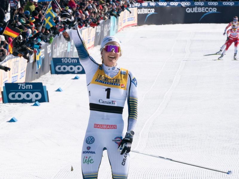Stina Nilsson wird Biathletin