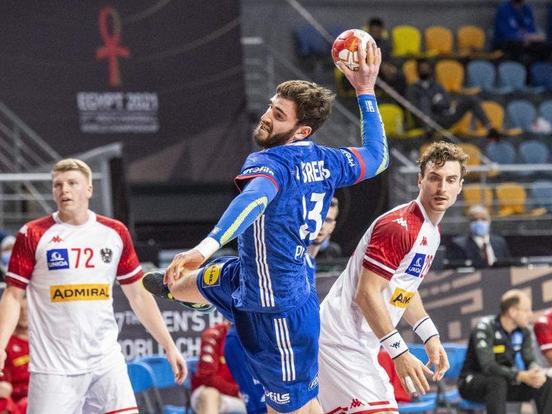 Ludovic Fabregas war mit sechs Toren bester Werfer der Franzosen beim Sieg gegen Österreich