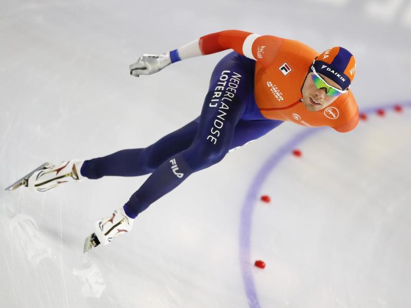 Die Herren-Konkurrenz führt der Niederländer Patrick Roest an