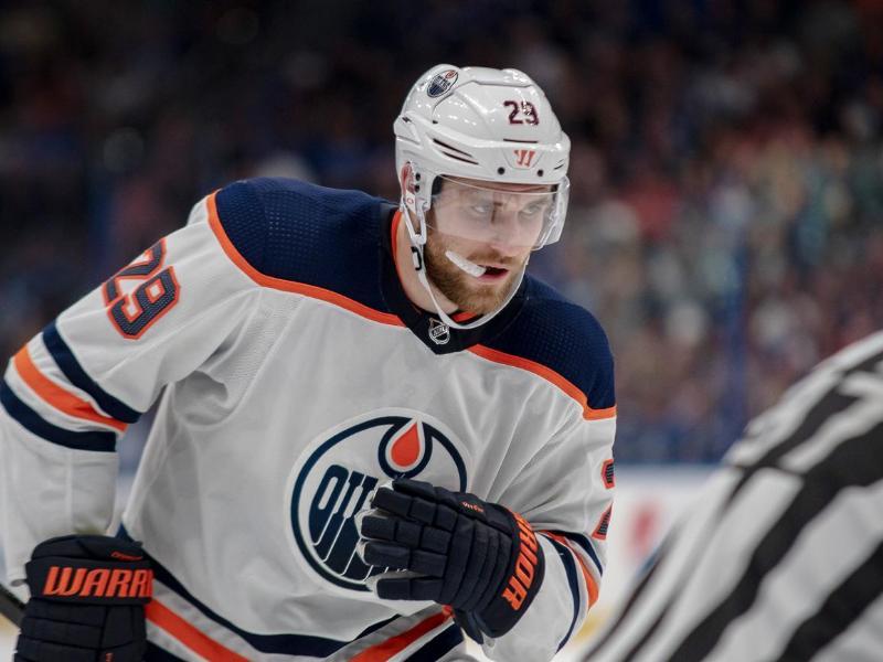 Kommt mit den Edmonton Oilers in der NHL nicht richtig in Schwung: Leon Draisaitl