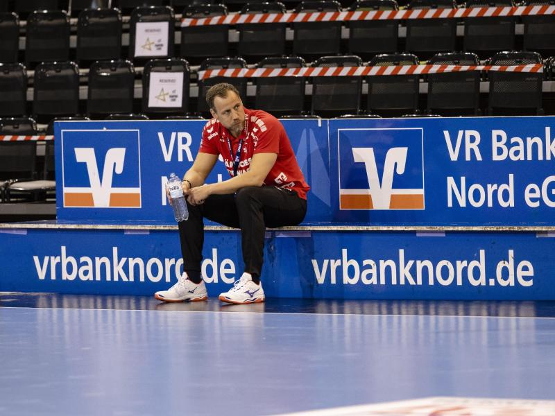 Lässt die Spieler zur isoliert und individuell trainieren: SG-Coach Maik Machulla