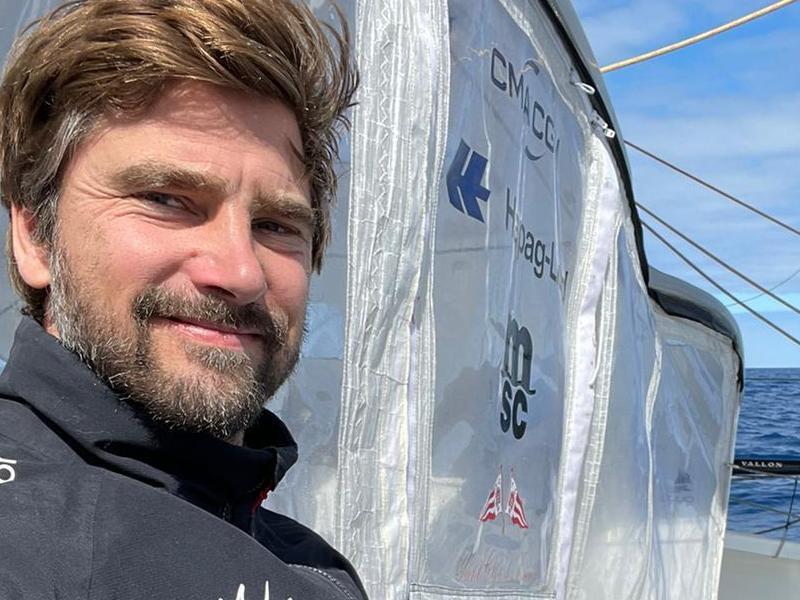 Grund zur Freude: Boris Herrmann hat die Imoca-Globe-Serie gewonnen