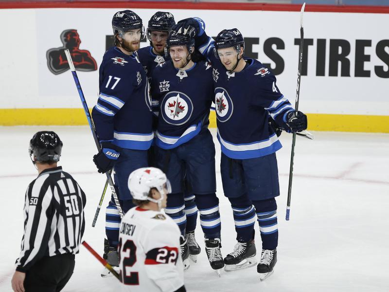Die Winnipeg Jets gewannen daheim gegen die Ottawa Senators