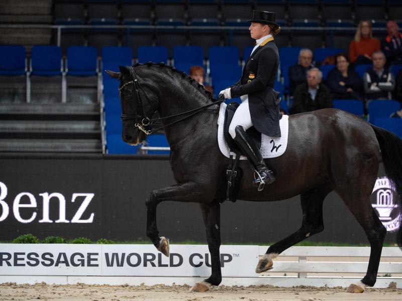 IsabellWerth belegte in Salzburg den zweiten Platz