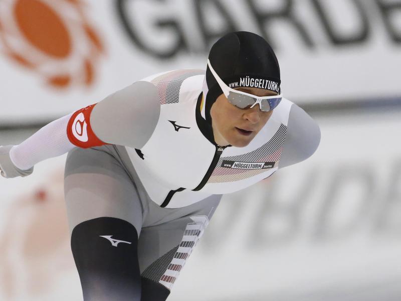 Hat ein straffes Programm bei der Eisschnelllauf-WM in Heerenveen vor sich: Claudia Pechstein