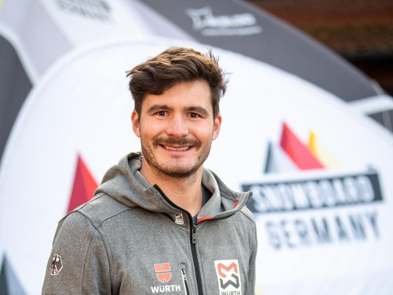 Fährt zur WM nach Schweden: Paul Berg, deutscher Snowboarder in der Disziplin Snowboardcross