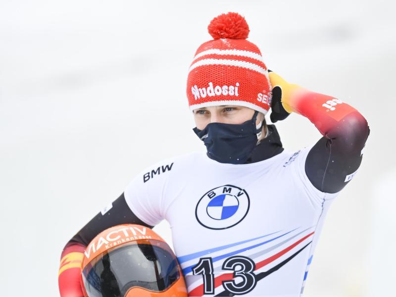 Weltmeisterin Tina Hermann arbeitet weiter mit Trainer Dirk Matschenz zusammen, der aber auch die starken Russen betreut