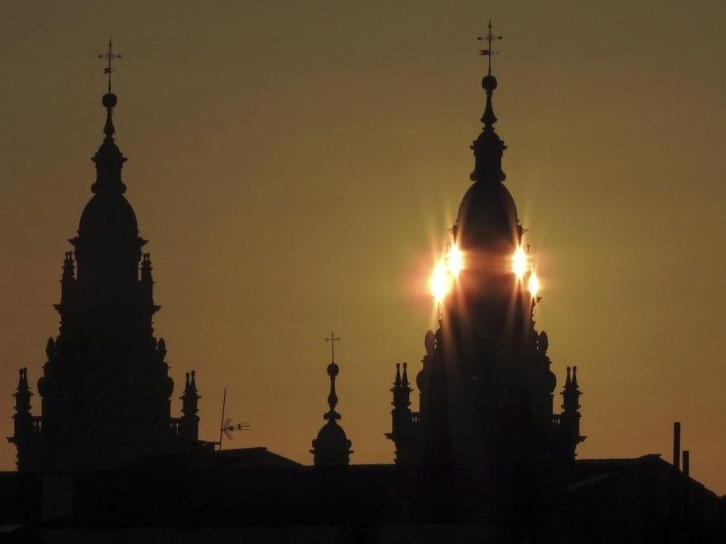 Der nächste Gewinner der Spanien-Rundfahrt der Radprofis wird im Pilgerort Santiago de Compostela gekürt