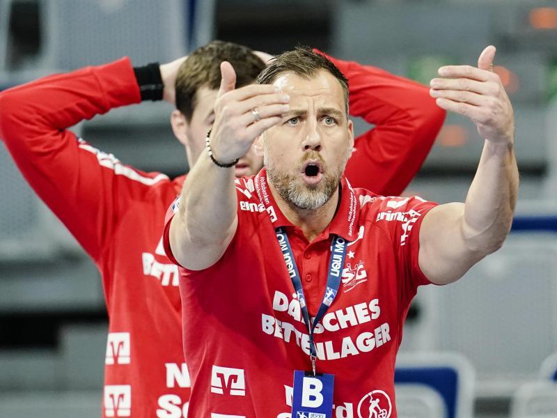 Auch Flensburgs Trainer Maik Machulla konnte die EHF-Entscheidung nicht verstehen