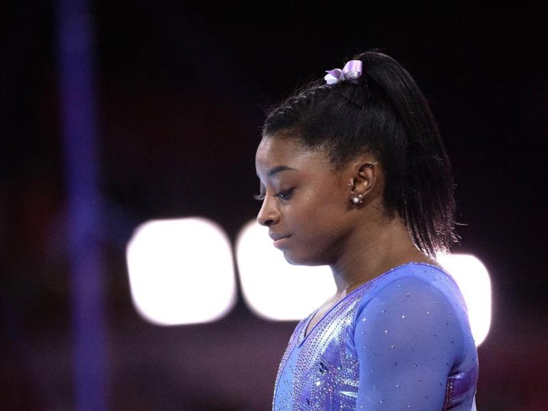 Sieht noch viele unbeantwortete Fragen im Missbrauchsskandal: US-Turnstar Simone Biles