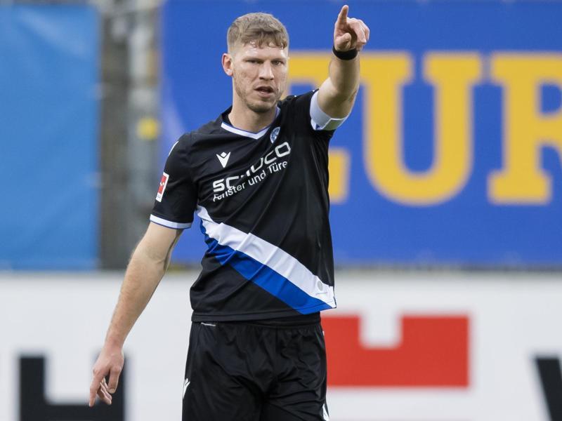 Arminia-Kapitän Fabian Klos soll für die Bielefelder Tore sorgen
