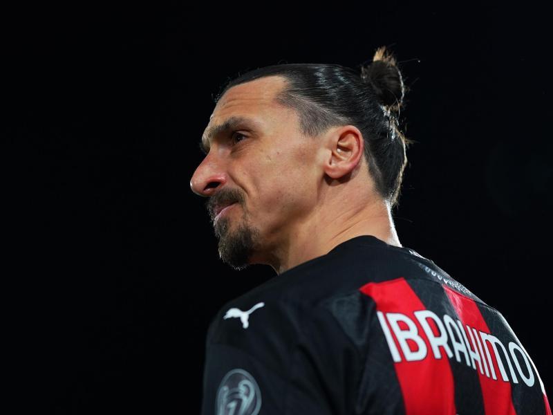Wurde in Belgrad offenbar beleidigt: Milan-Star Zlatan Ibrahimovic