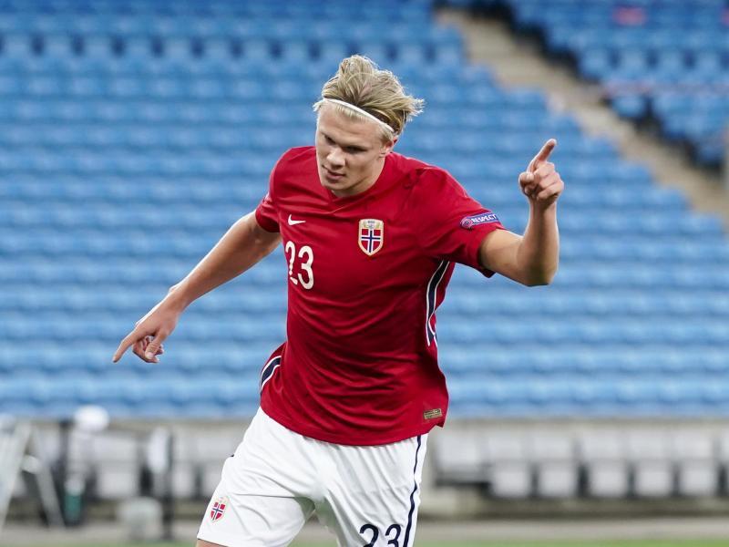Erling Haaland und seine norwegische Nationalmannschaft bestreiten ihr WM-Qualifikationsspiel gegen die Türkei in Spanien