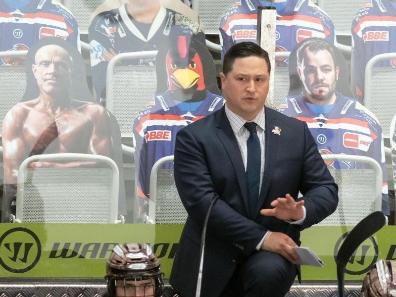 Ist nicht mehr Coach der Iserlohn Roosters:Jason O'Leary