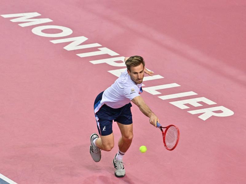 Peter Gojowczyk musste sich im Halbfinale Roberto Bautista Agut geschlagen geben