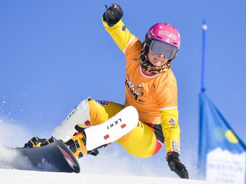 Deutsche Medaillenhoffnung bei der Snowboard-WM in Slowenien:Ramona Hofmeister