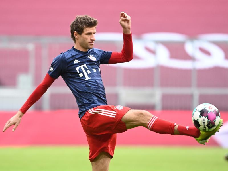 Trainiert, um schnell wieder in die Startelf der Bayern zurückkehren zu können: Thomas Müller
