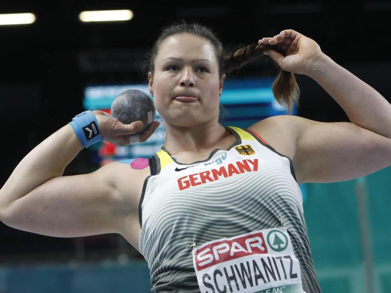 Christina Schwanitz holte Bronze bei der Hallen-EM