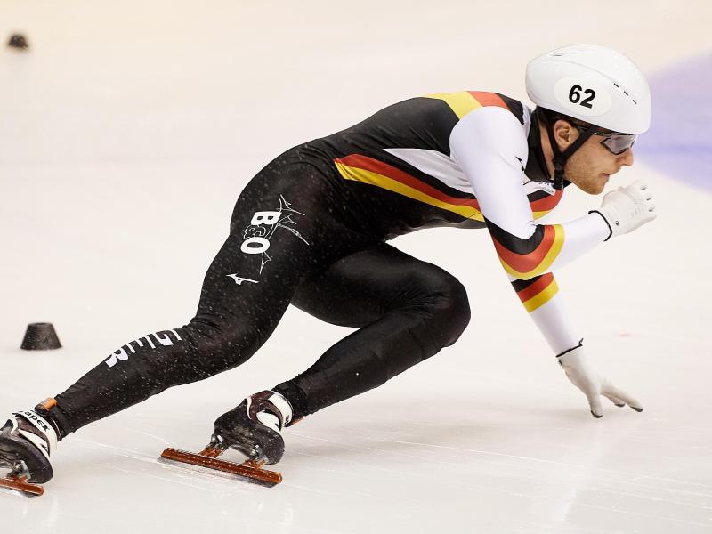Adrian Lüdtke hat bei der Shorttrack-WM über 1000 Meter Rang zehn erreicht