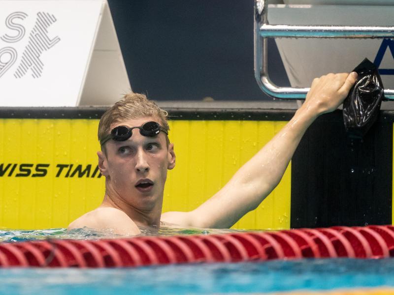 Schwimm-Weltmeister Florian Wellbrock glaubt nicht an Zuschauer bei den Olympischen Spielen
