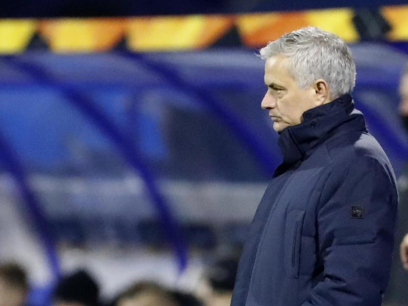 José Mourinho ist auf sein Team