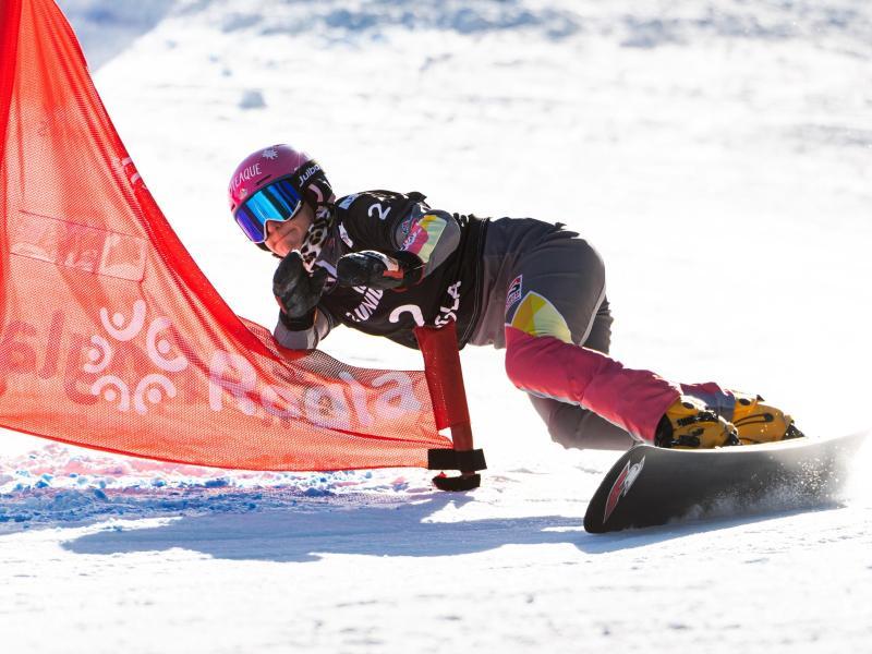 Beim Parallel-Slalom am Samstag will Ramona Hofmeister den erneuten Gewinn des Gesamtweltcups perfekt machen