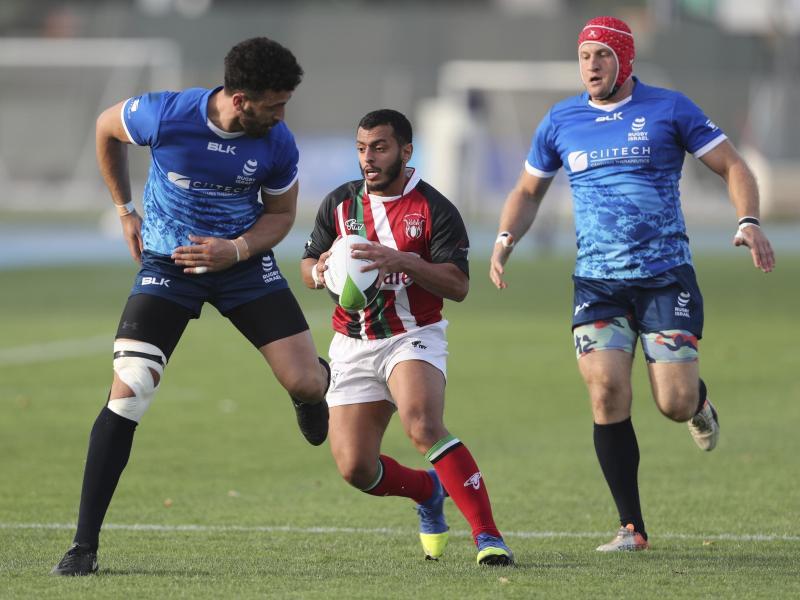 In Dubai traten Rugby-Teams Israels und der Vereinigten Arabischen Emirate in einem Freundschaftsspiel gegeneinander an