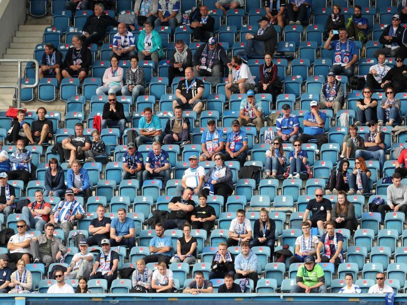 Hansa Rostock lässt am Samstag wieder Fans ins
