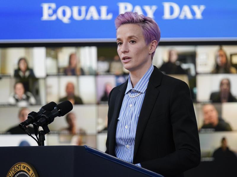 Megan Rapinoe kämpft für Gleichberechtigung