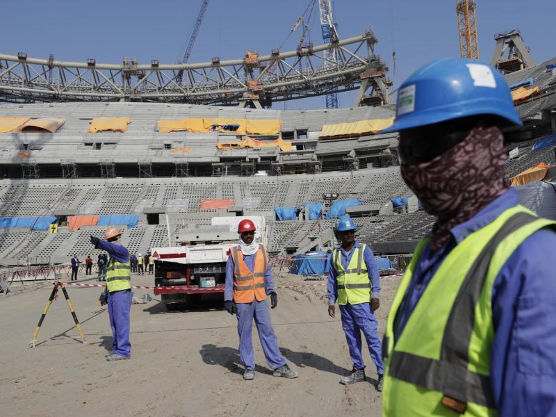 Die WM 2022 in Katar ist umstritten